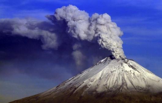 Wulkan Popocatépetl - Meksyk
