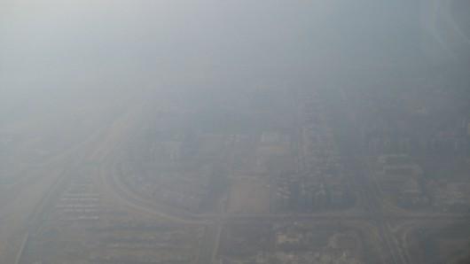Zanieczyszczone powietrze - Indie