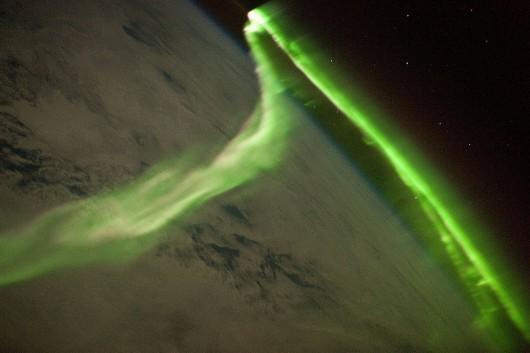 Zorza polarna - ISS