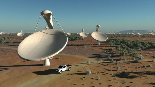 Afryka - Na południu kontynentu powstanie największa na świecie farma szybkich i bardzo czułych radioteleskopów