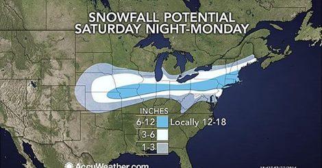 Amerykanie na północnym-wschodzie szykują się na kolejną śnieżycę