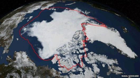 Arktyka - Tegoroczne maksimum dla powierzchni lodu było najmniejsze w historii