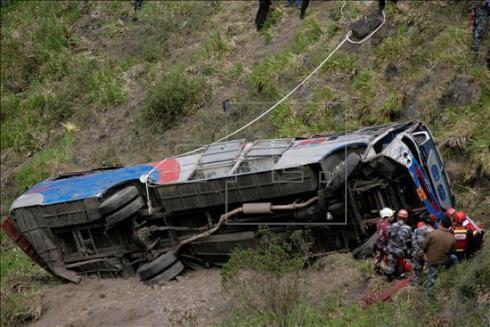 Campo Alegre, Brazylia - Co najmniej 51 osób w wypadku autokaru, który stoczył się po stromym zboczu w przepaść