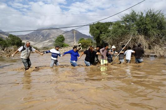 Chile - Ulewne deszcze na pustyni Atakama, która jest najsuchszą pustynią świata 10