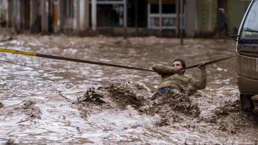 Chile - Ulewne deszcze na pustyni Atakama, która jest najsuchszą pustynią świata 3