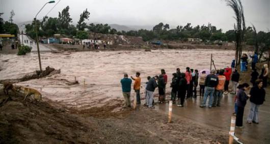 Chile - Ulewne deszcze na pustyni Atakama, która jest najsuchszą pustynią świata 5