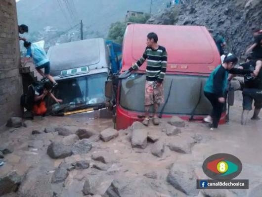 Chile - Ulewne deszcze na pustyni Atakama, która jest najsuchszą pustynią świata 6