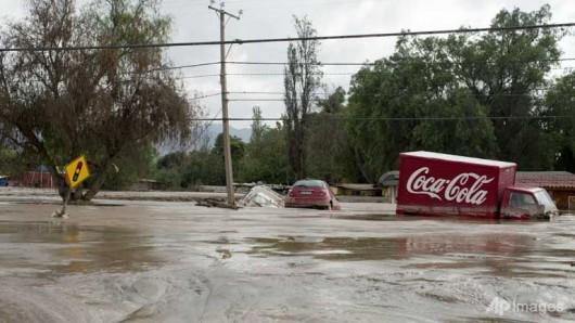 Chile - Ulewne deszcze na pustyni Atakama, która jest najsuchszą pustynią świata 8
