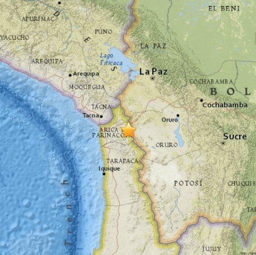 Chile - trzęsienie ziemi