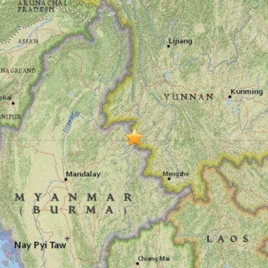 Chiny - Trzęsienie ziemi o silne 5.5 w prowincji Junnan 2