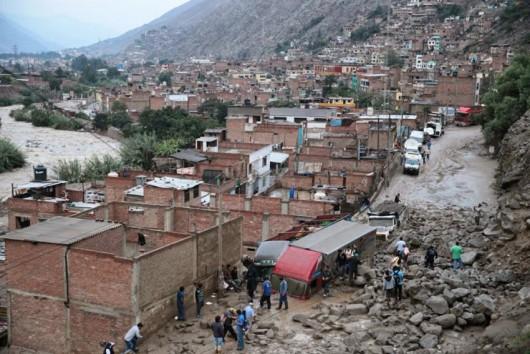 Ekwador - Ulewne deszcze i lawina błotna 1