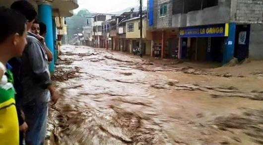 Ekwador - Ulewne deszcze i lawina błotna 3