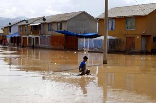 Ekwador - Ulewne deszcze i lawina błotna 4