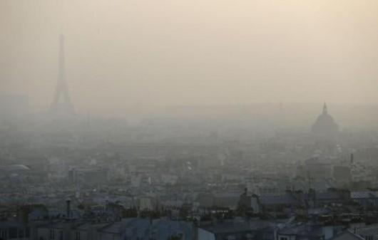 Francja - W Paryżu rośnie stężenie toksycznych pyłów o średnicy poniżej 10um