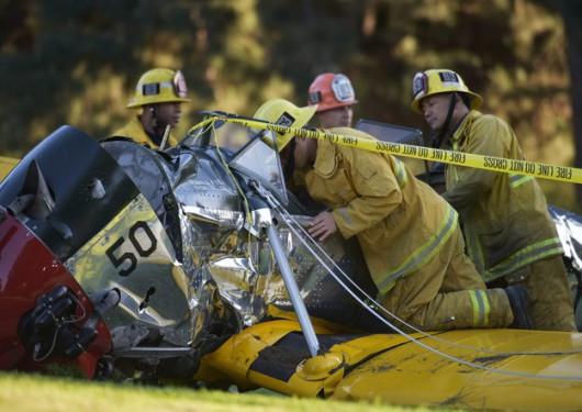 Harrison Ford ranny w wypadku /STUART PALLEY /PAP/EPA