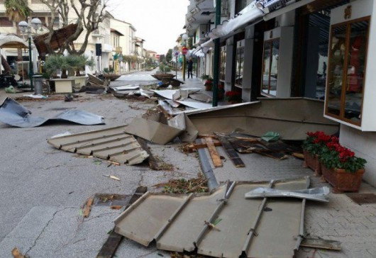 Huraganowy wiatr we Włoszech 1