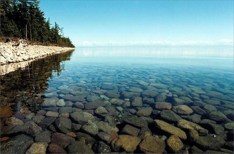 Jezioro Bajkał - Rosja
