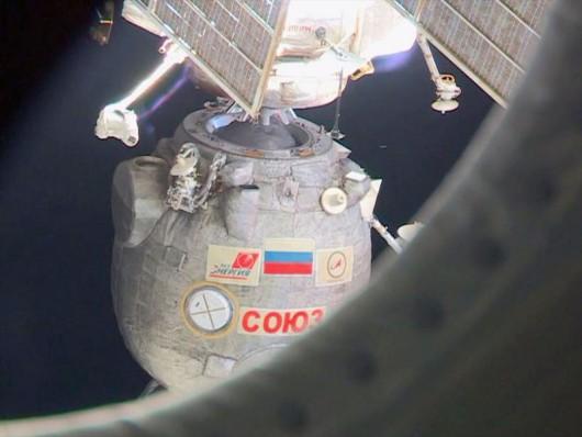 Kapsuła Sojuz wylądowała na stepach Kazachstanu 2