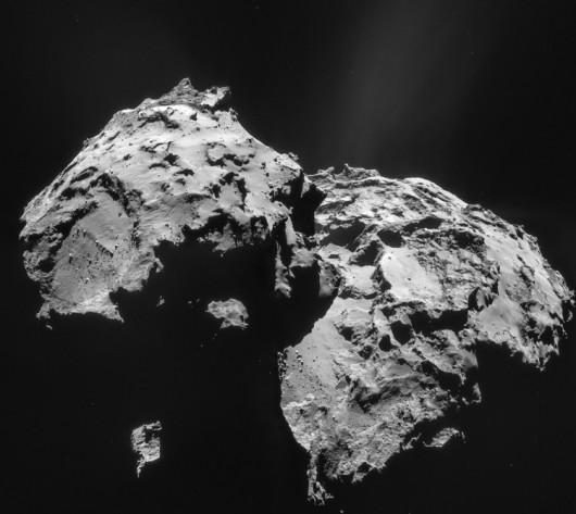 Kometa 67P Czuriumow-Gierasimienko