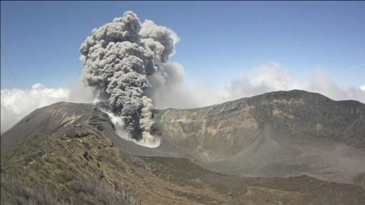 Kostaryka - Największa od 20 lat erupcja wulkanu Turrialba 2