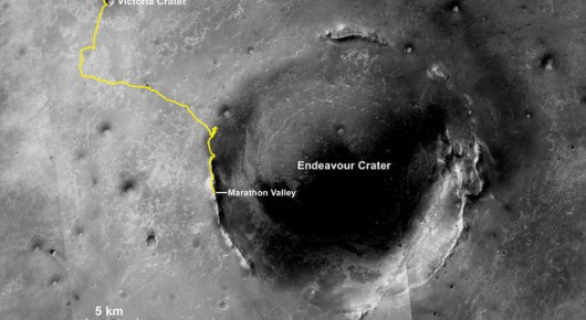 Mars -  Łazik Opportunity pokonał dystans 42 kilometrów 2