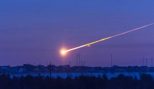 Meteor nad Niemcami