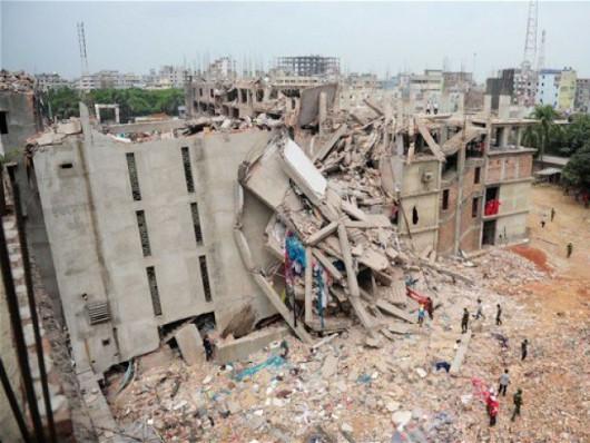 Mongla, Bangladesz - Zawaliła się cementownia, około 100 osób pod gruzami 2