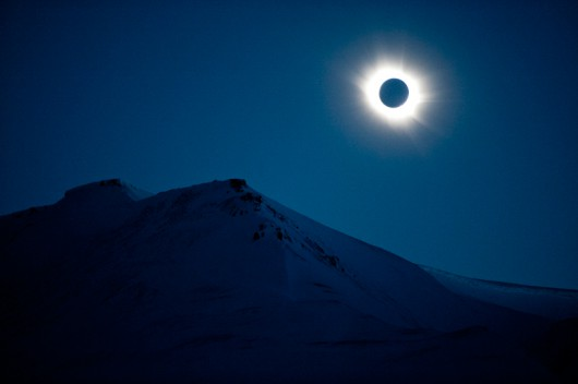 total solar eclipse at Svalbard