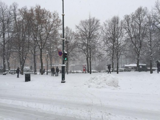 Norwegia - Trzeci dzień śnieżyc 2