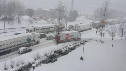 Norwegia - Trzeci dzień śnieżyc 3