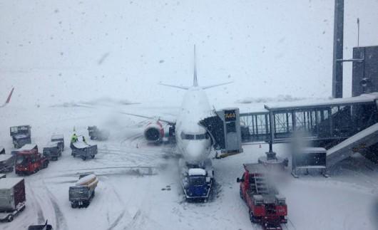 Norwegia - Trzeci dzień śnieżyc 4