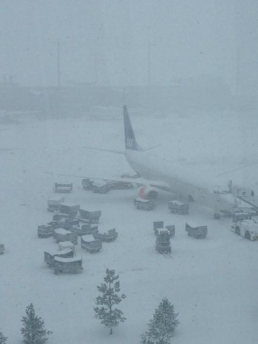 Norwegia - Trzeci dzień śnieżyc 5