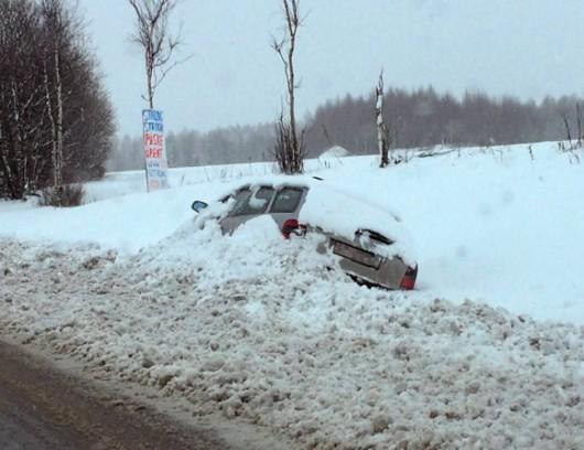 Norwegia - Trzeci dzień śnieżyc