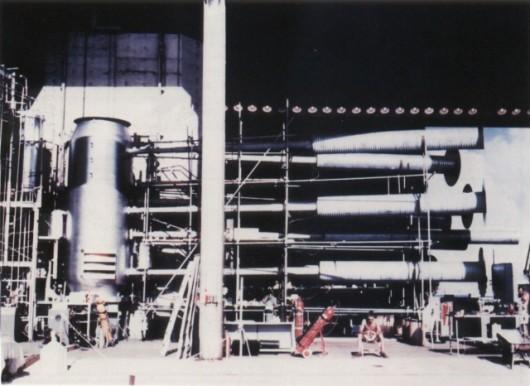 """""""Parówka"""" gotowa do testu Mike. Nie nazywano jej bombą, ale urządzeniem, bo nie nadawała się do zastosowania militarnego"""