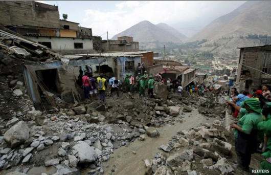 Peru - Lawiny błotne zabiły już 9 osób 5