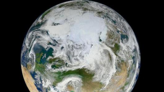 Pierwsze takie zdjęcie w historii: Ziemia od strony bieguna