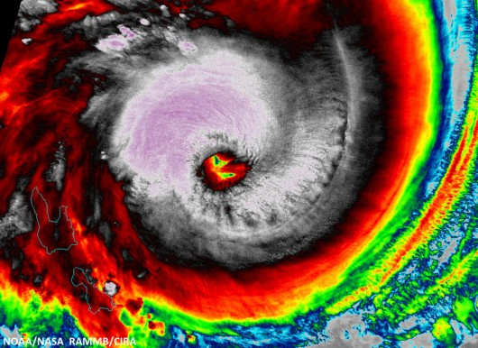 Potężny cyklon zbliża się do archipelagu Vanuatu