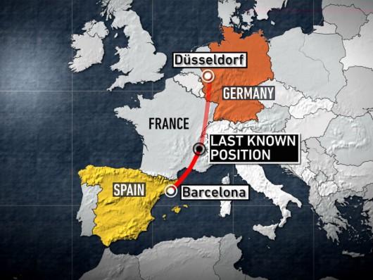Samolot airbus A320 tanich niemieckich linii lotniczych Germanwings rozbił się we francuskich Alpach 3
