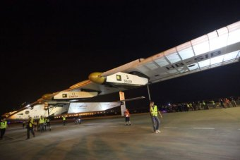 Samolot o napędzie słonecznym Solar Impulse 2 doleciał do Chin