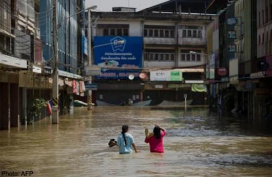 Tajlandia - Załamanie pogody i powódź na północy kraju 2