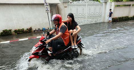 Tajlandia - Załamanie pogody i powódź na północy kraju 4