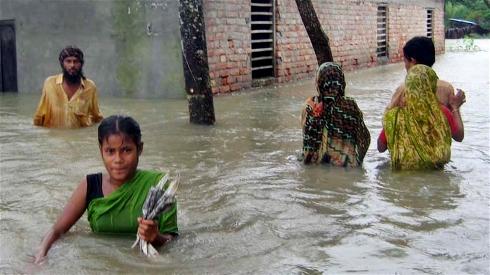 Tajlandia - Załamanie pogody i powódź na północy kraju 5