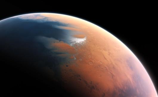 Tak Mars mógł wyglądać cztery miliardy lat temu /ESO/M. Kornmesser /