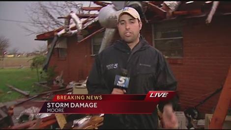 USA - Co najmniej trzy tornada w środę przeszły nad stanami Arkansas i Oklahoma 6