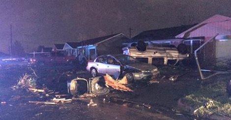 USA - Co najmniej trzy tornada w środę przeszły nad stanami Arkansas i Oklahoma 9