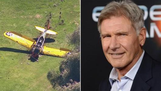 USA - Harrison Ford został ranny w wypadku awionetki, która spadła zaraz po starcie na pole golfowe