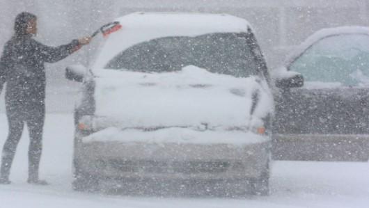 USA - Silna śnieżyca uderzyła w środkowo-zachodnią część kraju