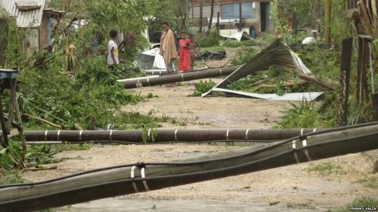 Vanuatu po cyklonie 09