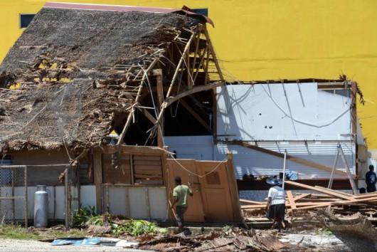 Vanuatu po cyklonie 25
