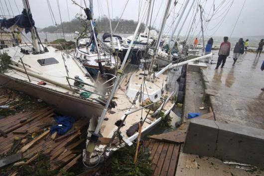 Vanuatu po przejściu cyklonu 2